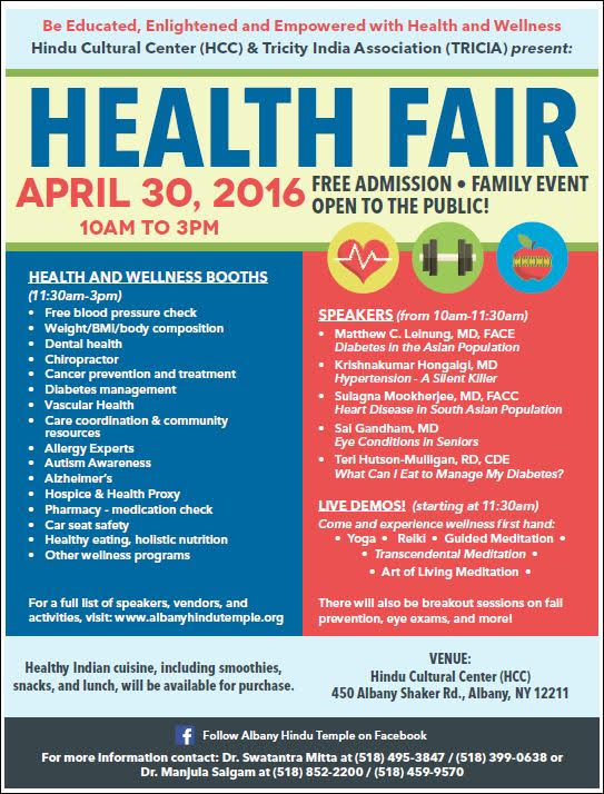 health fair A why a health fair a health fair is a great way for you to offer your employees information and activities that help to educate them and offer suggestions for healthier living through a variety of health topics.